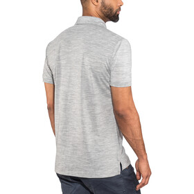 super.natural Essential Polo Homme, ash melange